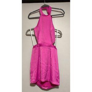 Brand new NBD Laryssa mini Dress in Fuchsia / pink
